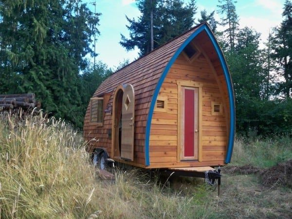 5 Incredible Tiny Homes That Are Under 250 Square Feet…