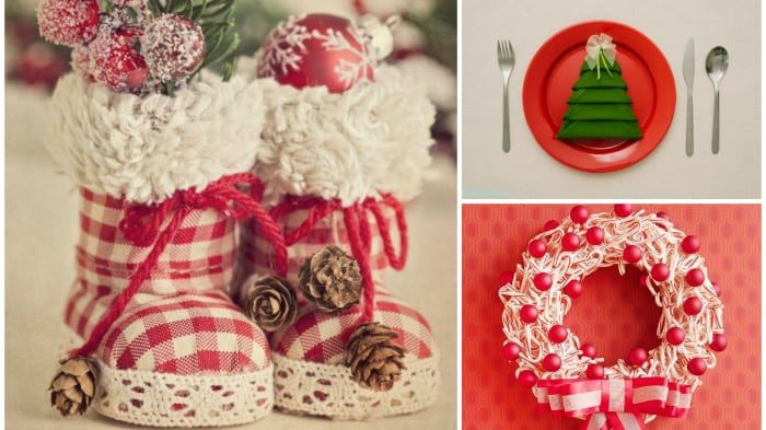 21 quick and easy diy christmas decorations