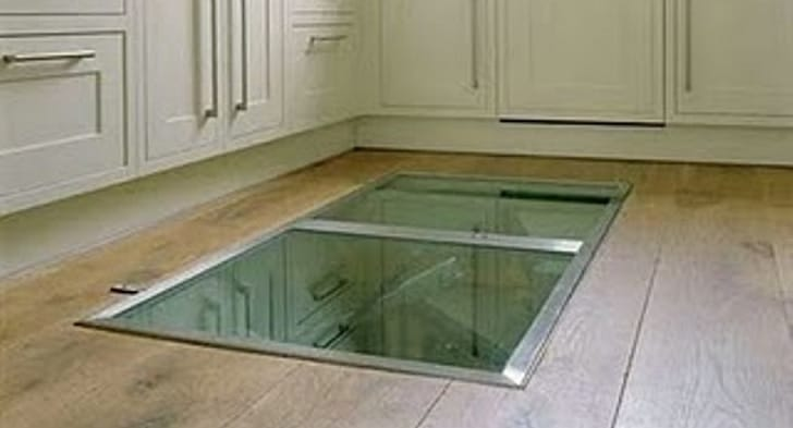 secret window kitchen floor