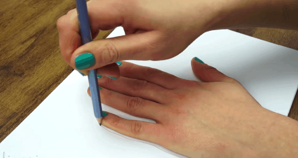 Draw Your Hand In 3d Tutorial Diy Cozy Home