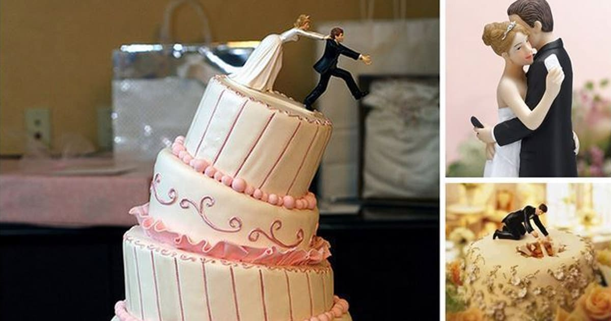 Funny Wedding Cake Ideas DIY Cozy Home - Funny Wedding Cakes Images