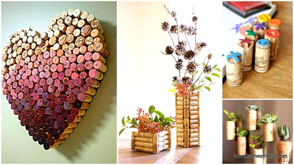 Recycle Wine Corks Into Beautiful DIY Art