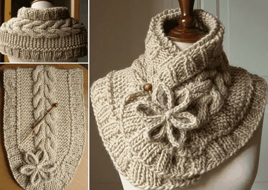 Grab The Pattern For This Beautiful Knit Scarf