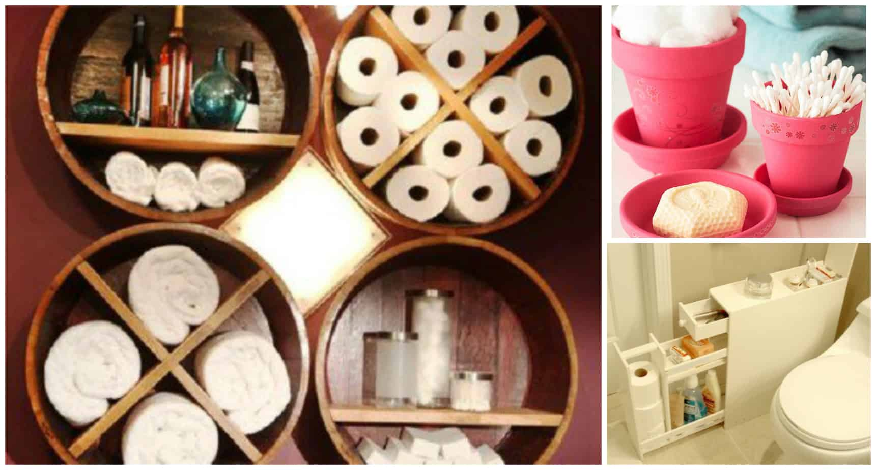 bathroom storage ideas diy creative diy small bathroom storage ideas 16057