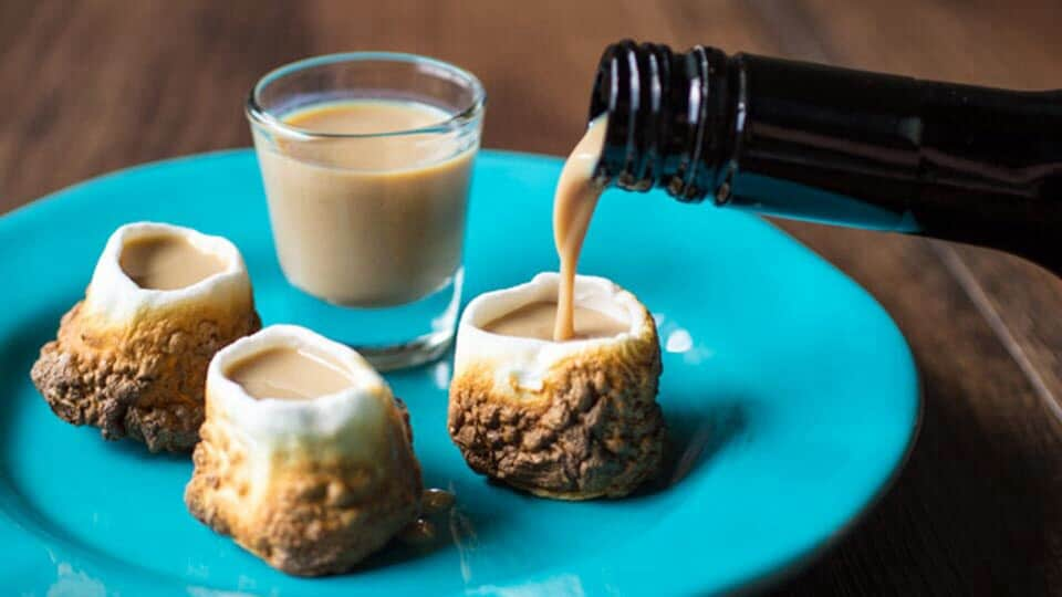 Marshmallow Shots