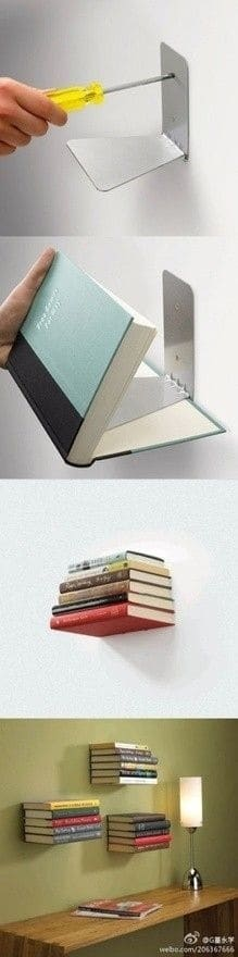 book as a bookshelf