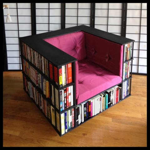 book shelf chair