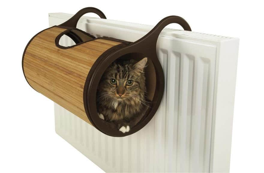 cat radiator bed