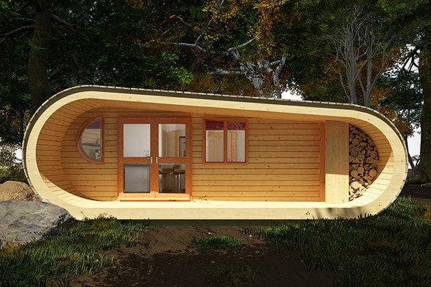 eco perch tiny tree house