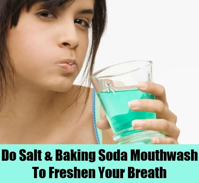 baking soda mouthwash