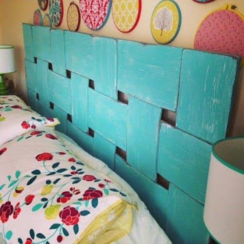 lattice look headboard