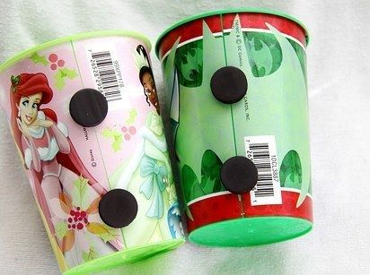 magnets on kids cups