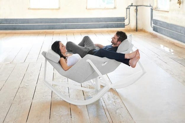 tandem rocking chair