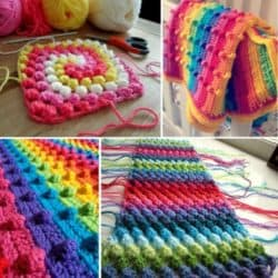 How To Make A Puff Stitch Blanket