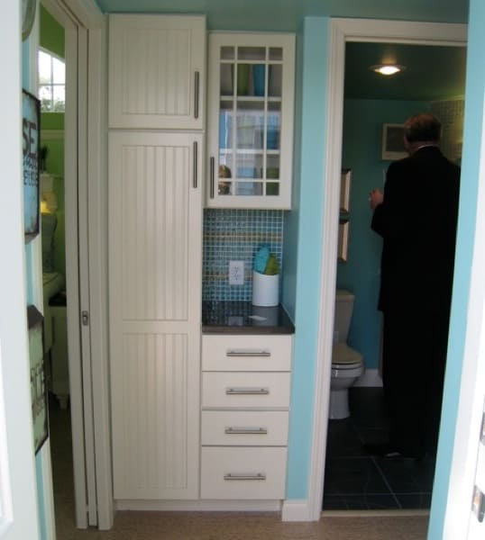 Storage Space in Entryway
