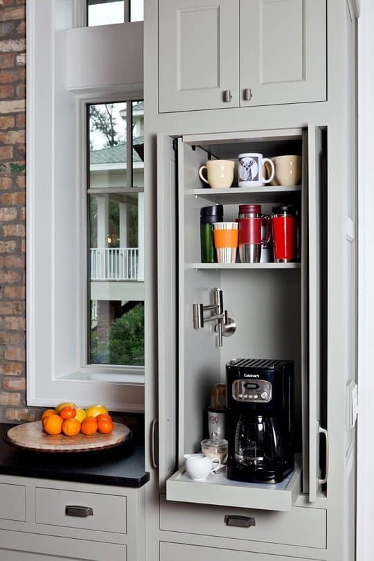 kitchen appliances storage