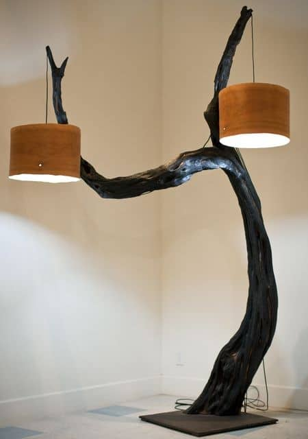 art piece lamp