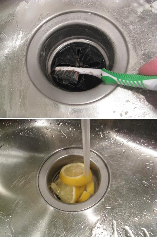 clean sink disposal
