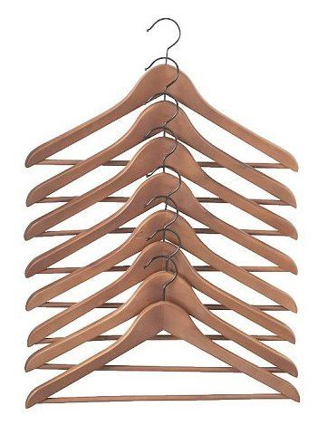 use coordinated hangers