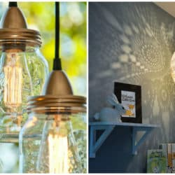 23 Brilliant DIY Lamps and Chandeliers