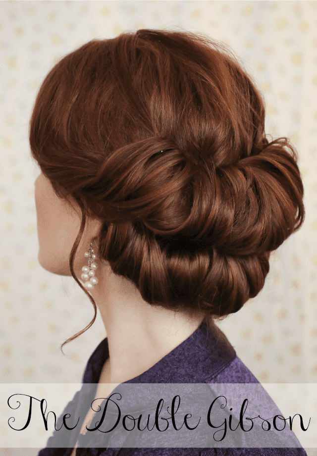 double gibson hairstyle