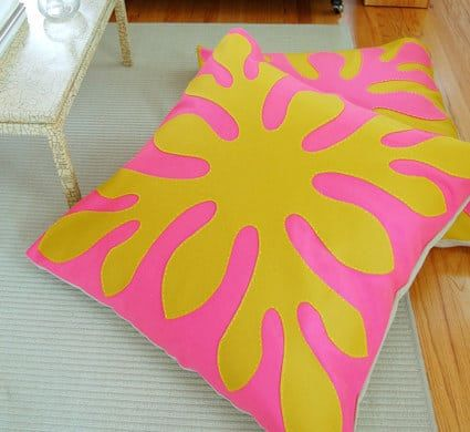felt floor pillows