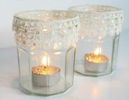 lacey votive holders
