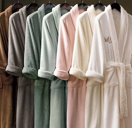 monogrammed robes