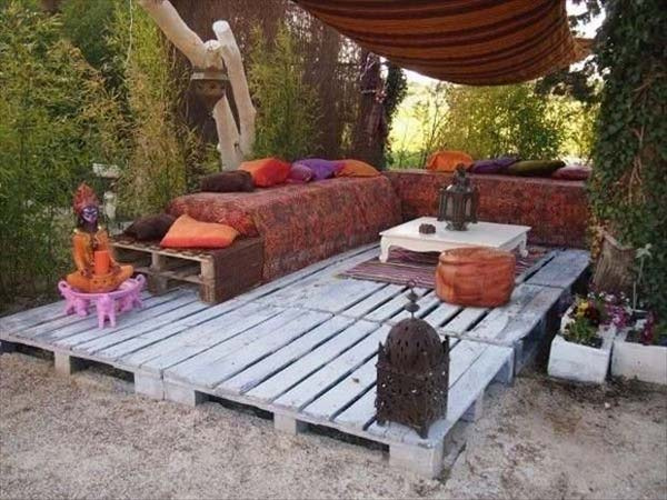 38 Clever DIY Pallet Furniture Plans – Pallet Patio Furniture Plans