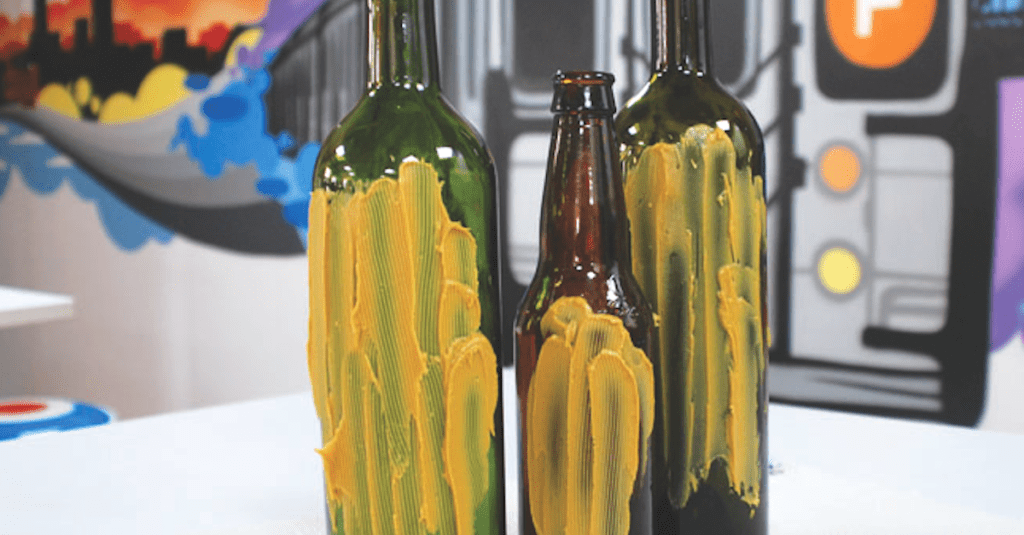 peanut butter wine bottle