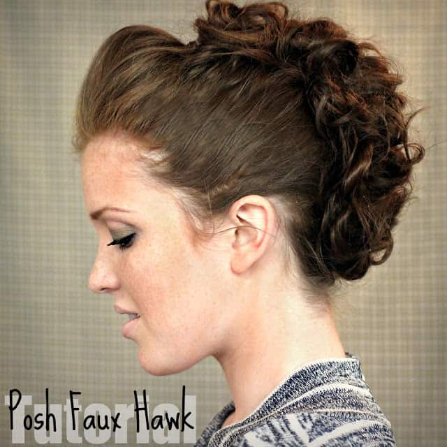 posh faux hawk
