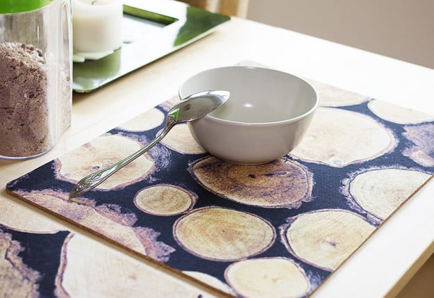 rustic placemats cozy
