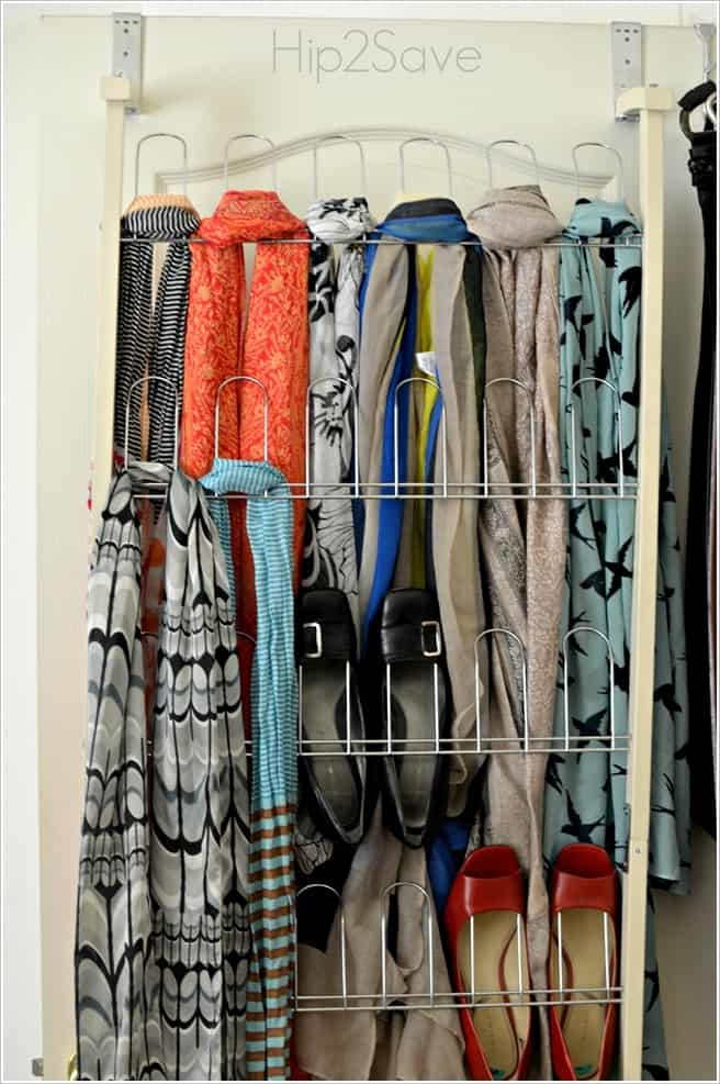 shoe organizer for scarves