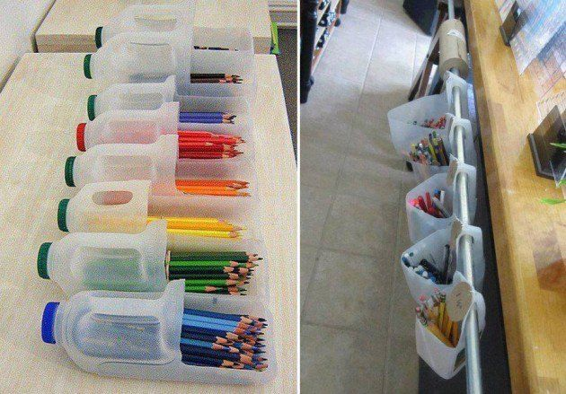 storage jugs for pencils