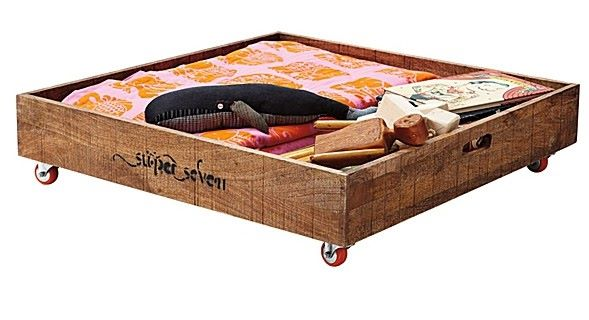 under bed storage crate