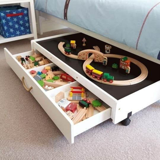 Under Bed Toy Storage