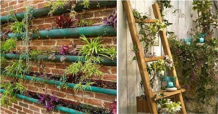 Vertical garden ideas for small spaces diy cozy home for Easy garden ideas for small spaces