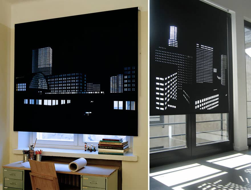 blinds with a view