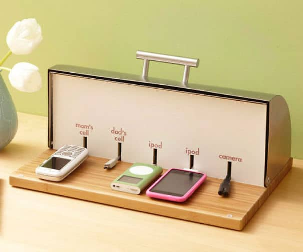 breadbox charging station