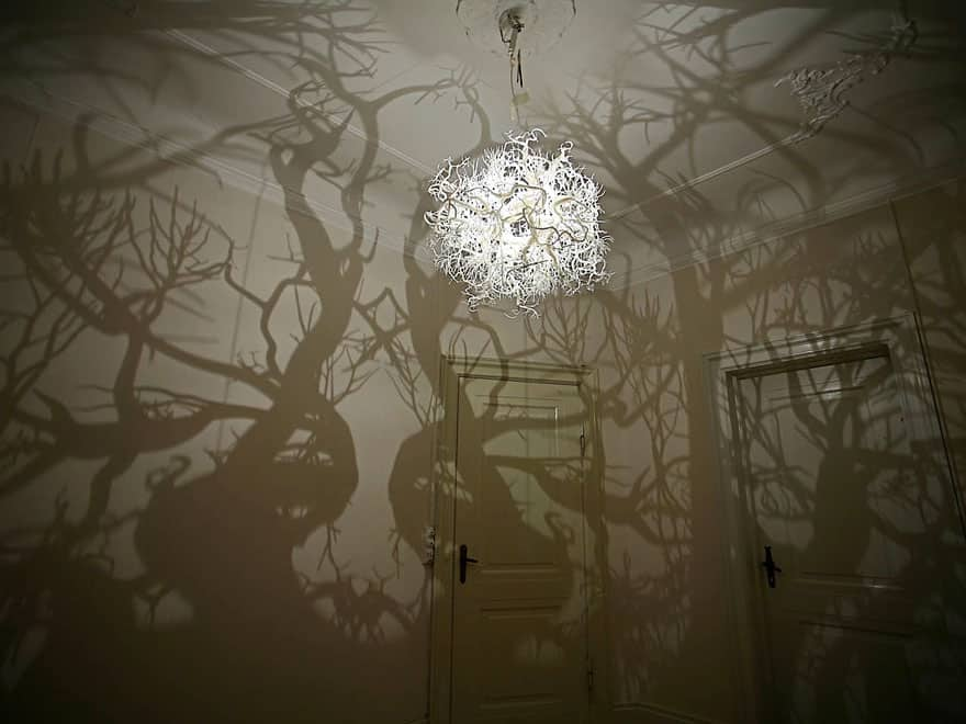 chandelier forest