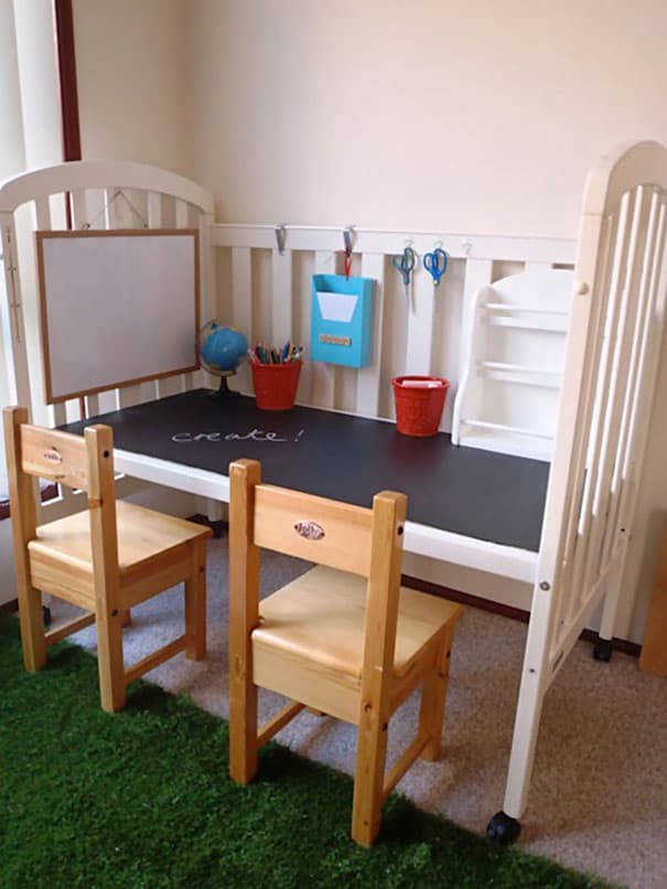crib to table or desk