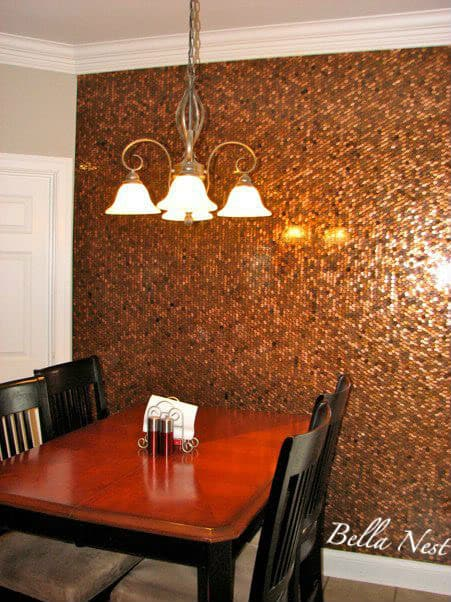 penny dining room wall
