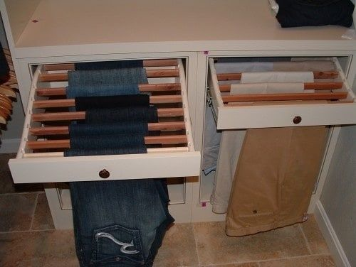 pullout drying racks
