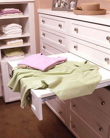 pullout folding table