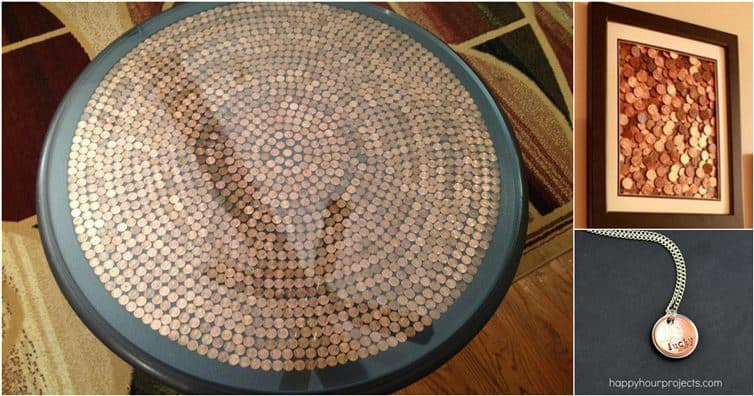 Get Creative And Try One Of These Clever Penny Diy Projects