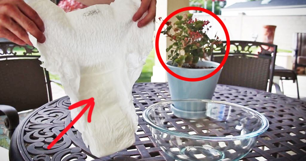 diapers for plants