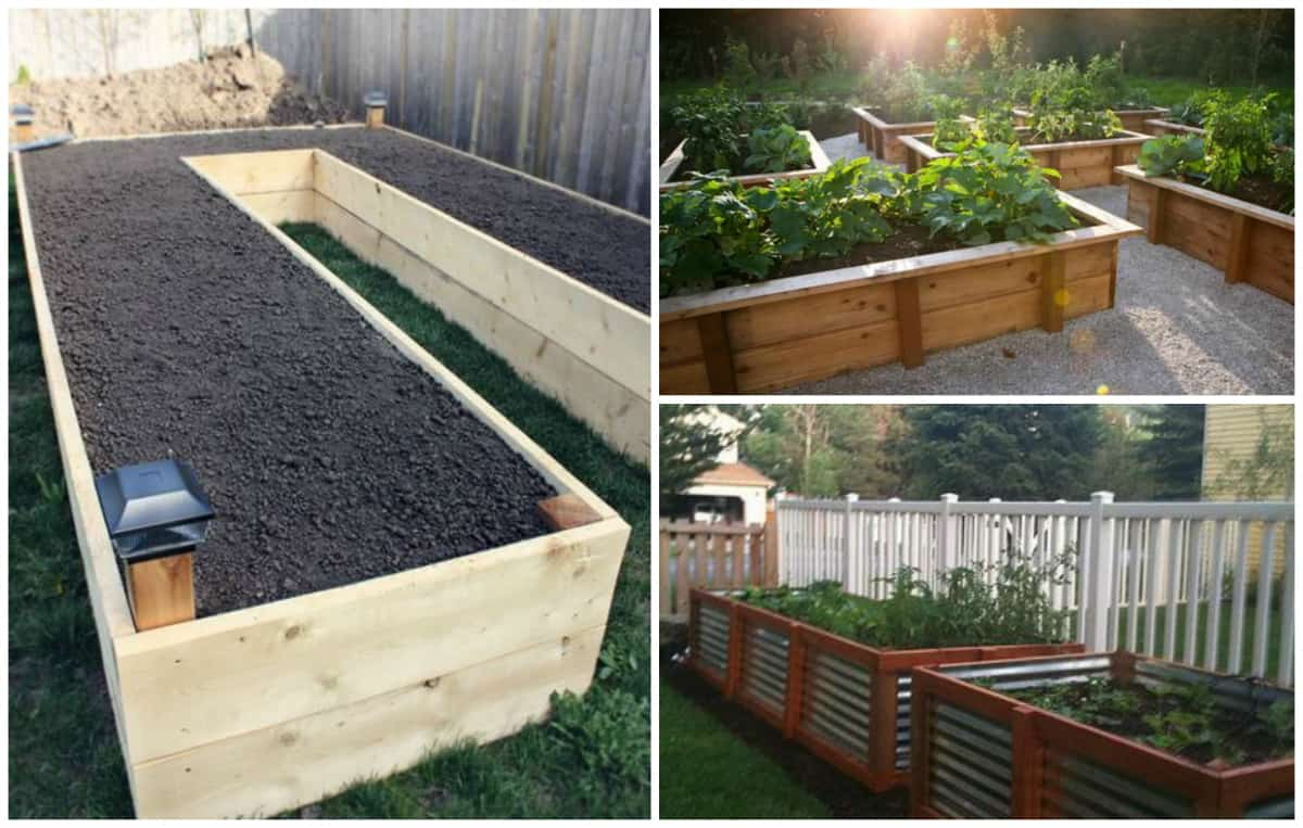 diy your way to a beautiful raised garden bed