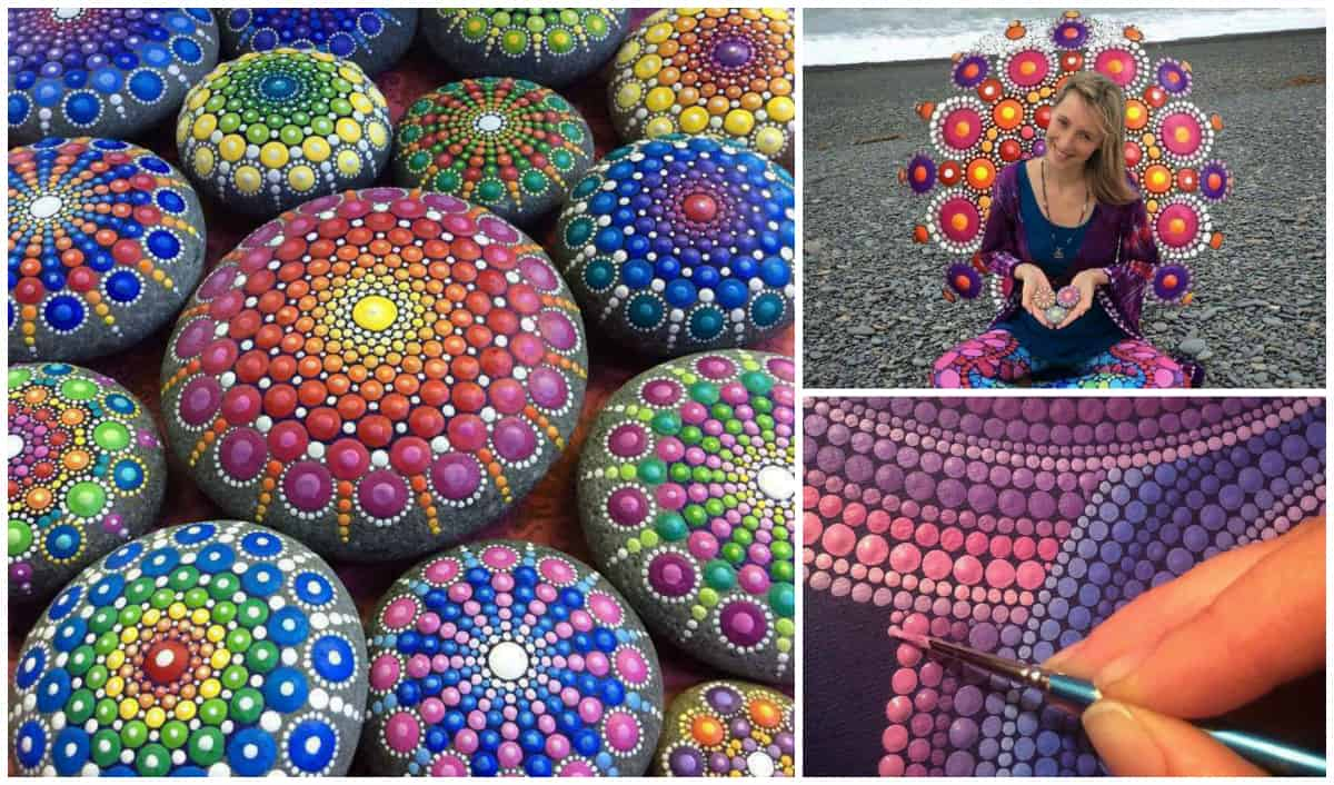 Stunning painted rocks by elspeth mclean - Painting rocks for garden what kind of paint ...