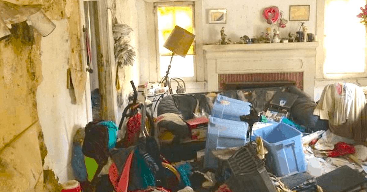 This Home Was So Trashed You D Think There Was No Hope