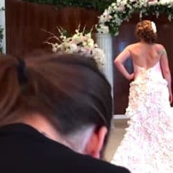 A Wedding Dress Made Of Toilet Paper? Yes!